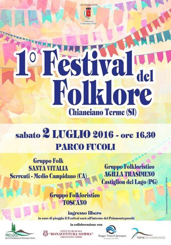 Primo Festival del Folklore - Chianciano Terme